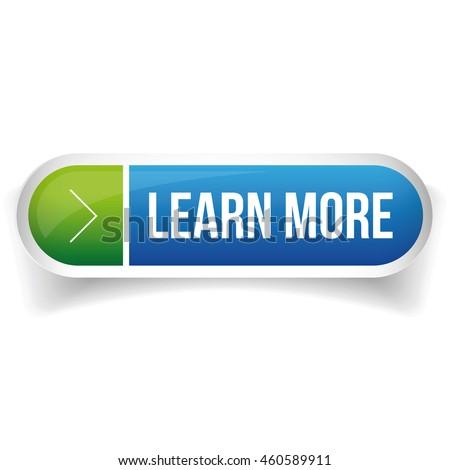 Learn more button vector Stock photo ©