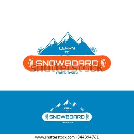 learn to snowboard logo