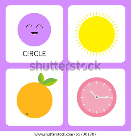 learning circle form shape