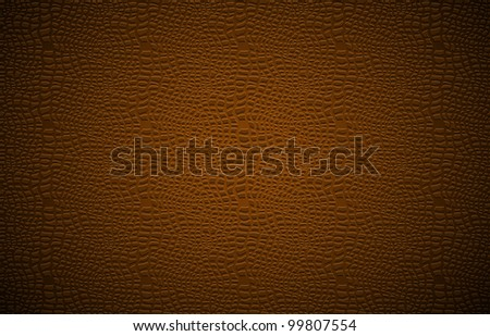 Leather background. Vector illustration.