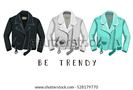 leather jacket be trendy