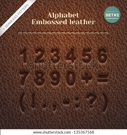 stock-vector-leather-stamped-alphabet