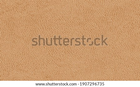 Leather texture background. Brown leather texture. Seamless brown natural leather texture. Distressed overlay texture of natural leather, grunge background. Horizontal background. Vector illustration