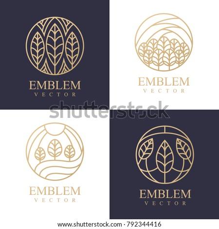 leaves icon setnature logo