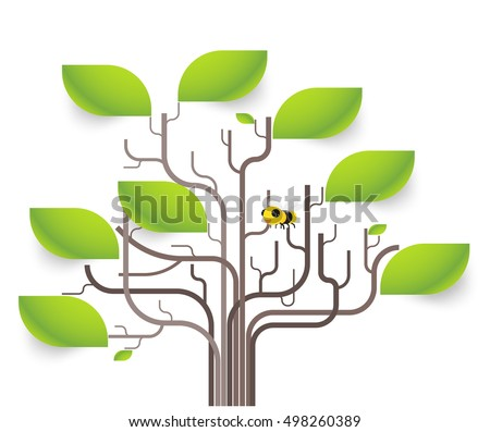 Tree Infographic Download Free Vector Art Stock Graphics Images