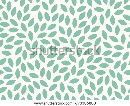 Leaves Pattern. Endless Background. Seamless  - Shutterstock ID 698306800