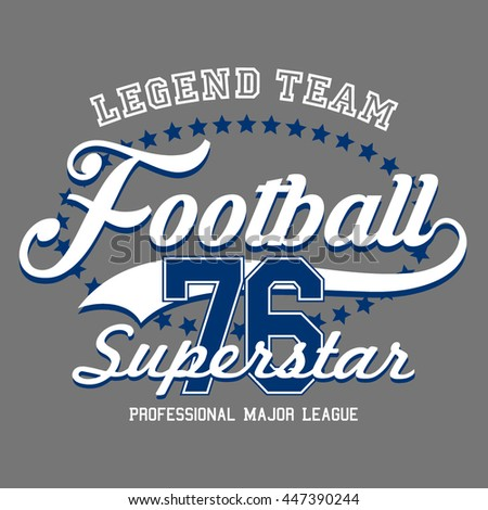 legend team football sport