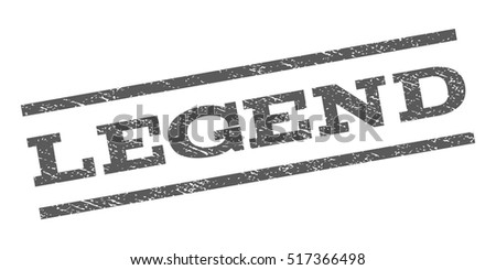 legend watermark stamp text