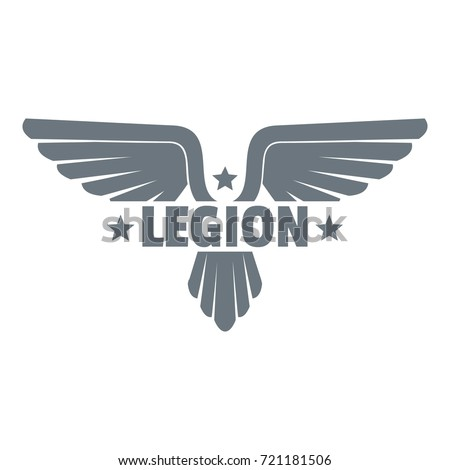 legion wing logo simple