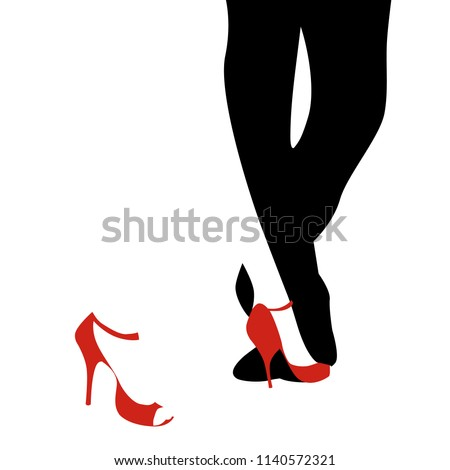 legs of woman and man dancing