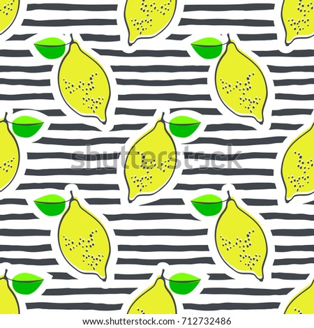 lemon juicy fruit vector