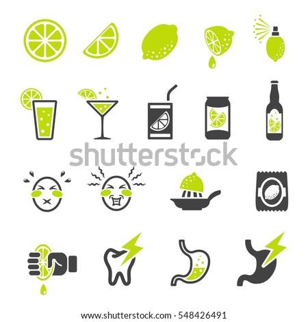 lemon,lime,sour icon