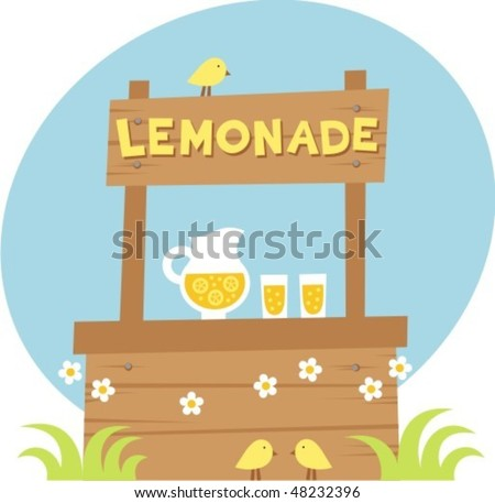 Lemonade Stock Vector 48232396 : Shutterstock