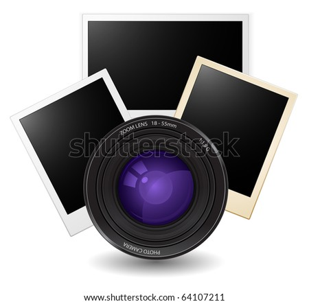lens with photo cards
