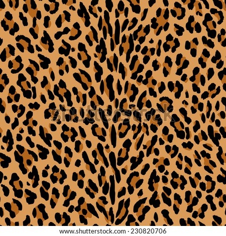 leopard animal seamless skin