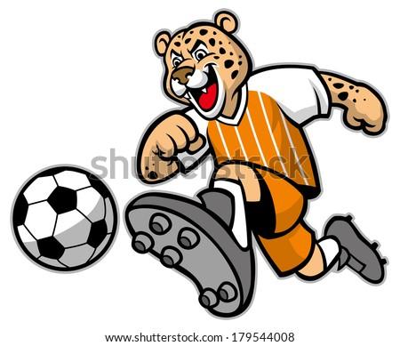 leopard football mascot