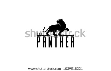 leopard logo vector illustration design template