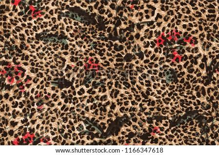 Leopard pattern wild