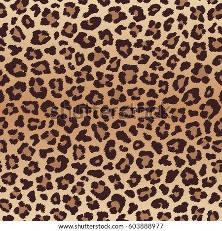 Leopard seamless pattern, imitation of leopard skin. Vector