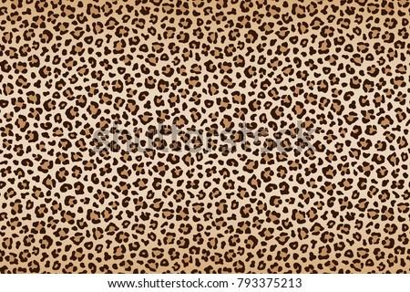 leopard texture  brown beige...