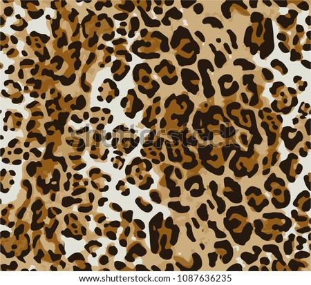 Leopard wild texture