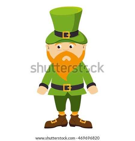 leprechaun irish hat bear green