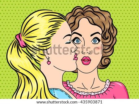 lesbians kissing  first date