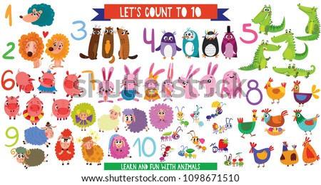 let's count to 10big set with