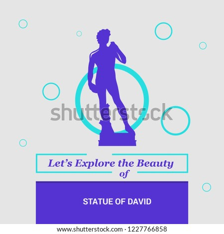 Let's Explore the beauty of Statue of David Florence, Italy National Landmarks