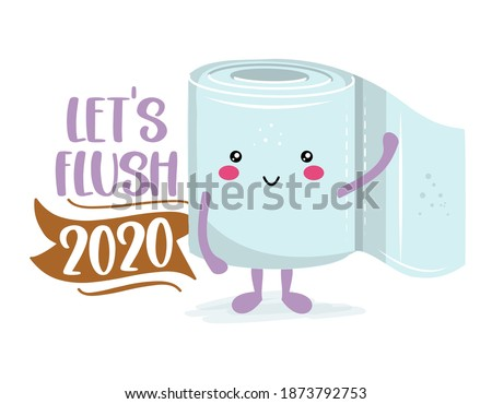 let's flush 2020   funny toilet