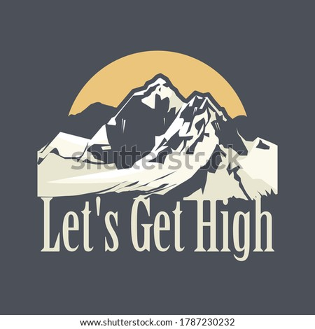 let's get high   skiing  hikin