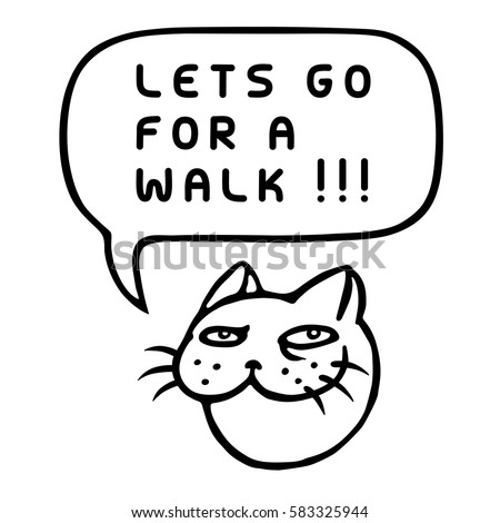 let's go for a walk  cute tom