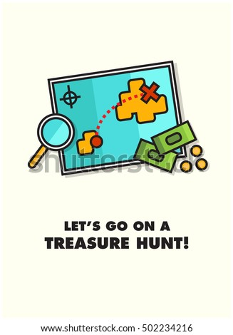 let's go on a treasure hunt