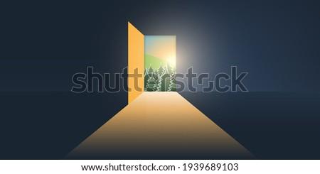 let's go outside   dark room