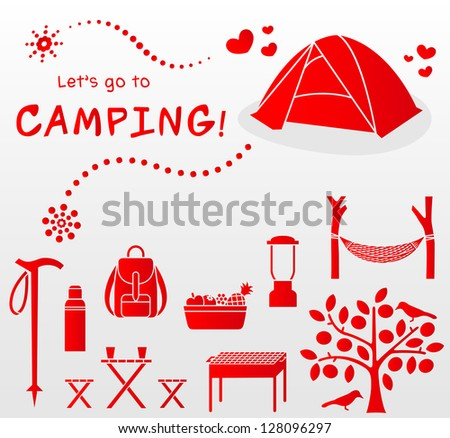 let's go to camping!