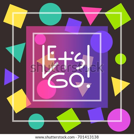 stock-vector-let-s-go-white-linear-lettering-in-thin-square-frames-on-black-background-decorated-with-randomly