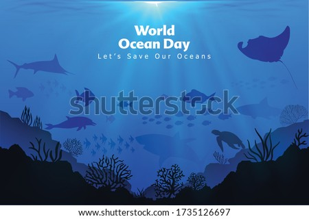 let's save our oceans world