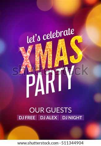 lets celebrate xmas party