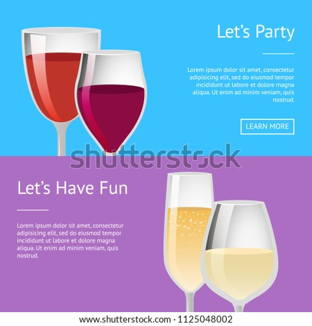 lets party and have fun pair