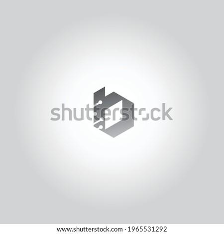 letter B business Icon Logo Foto stock ©