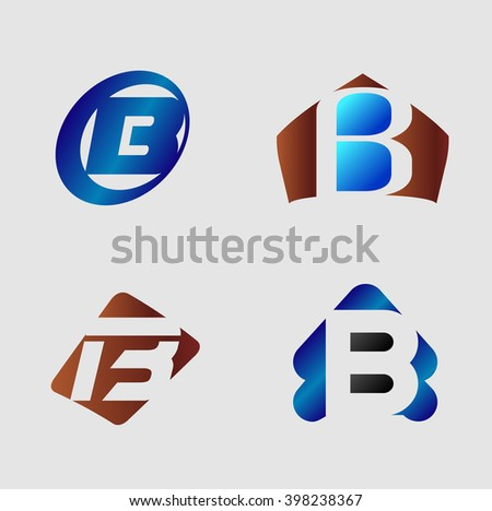 letter b logo business logo