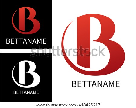 letter b logo for business template colorful letter b vector illustration logo b on