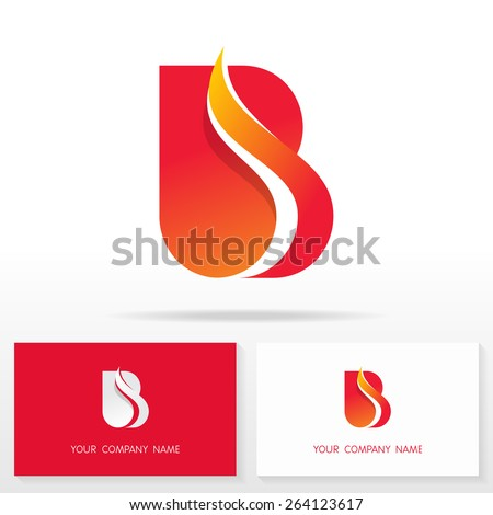 letter b logo icon design