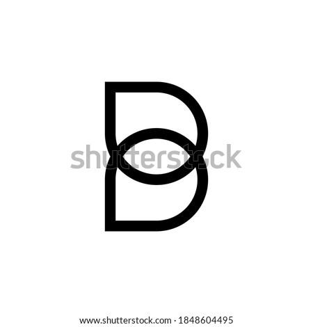 letter B logo vector, letter B business logo, letter B logo company Stock fotó ©