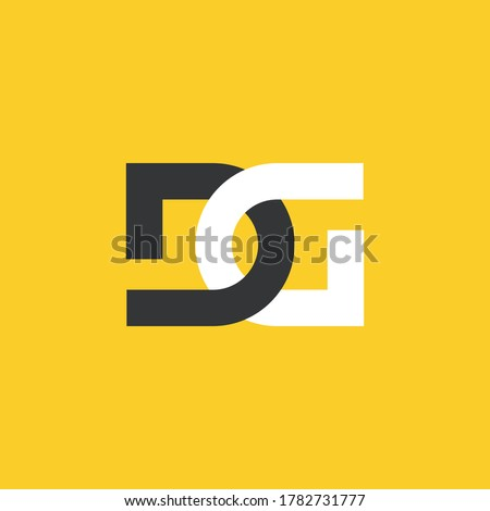 letter d and g joint letter