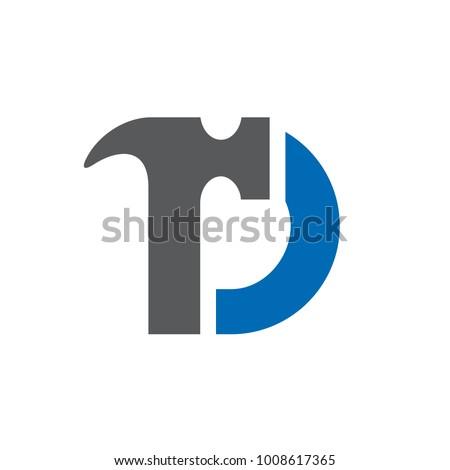 letter d  hammer  home repair
