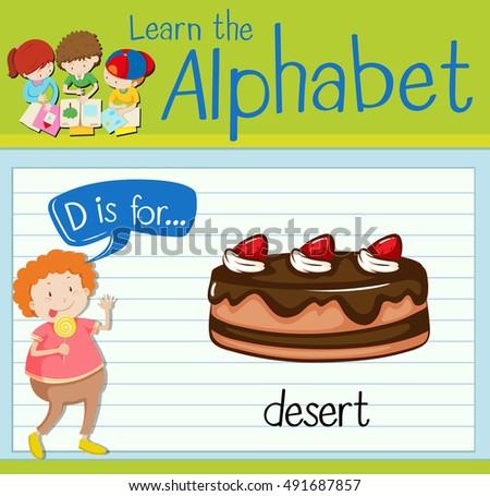 letter d is for dessert