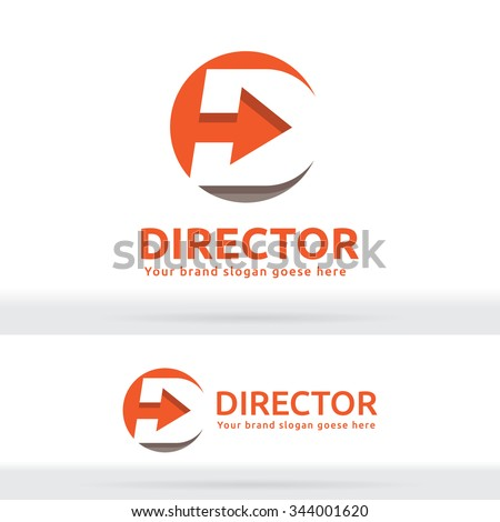 with Arrow Logo ...D Arrow Logo
