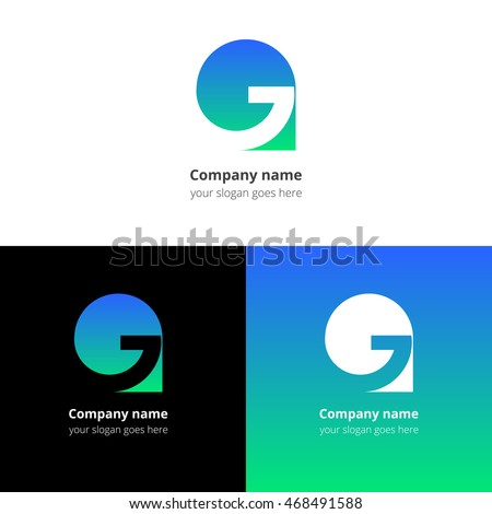 Vector Images Illustrations And Cliparts Letter G Logo Icon Flat