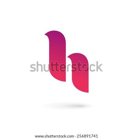 61ad0e1ec37 Letter H logo icon design template elements